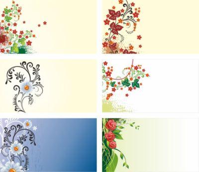 цветы узор на фон