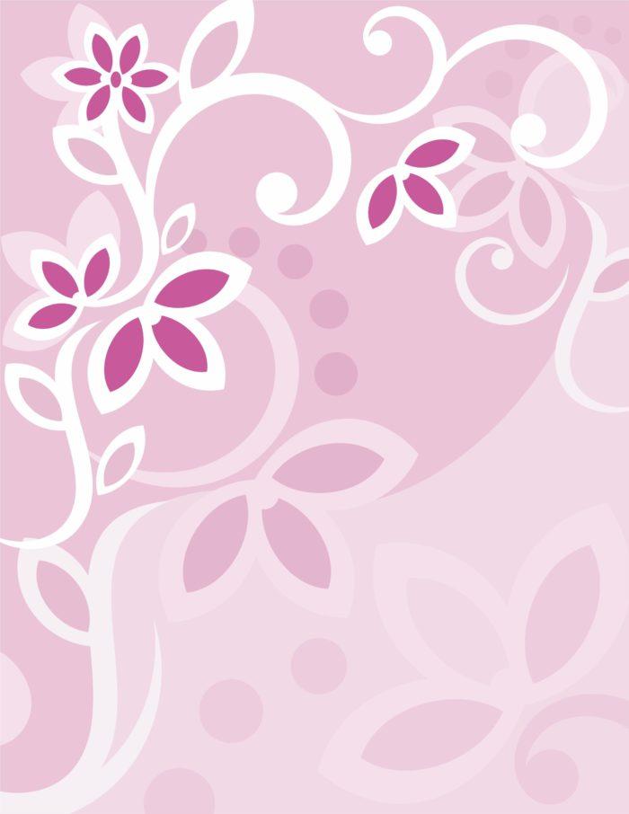 сиреневый цветочный фон