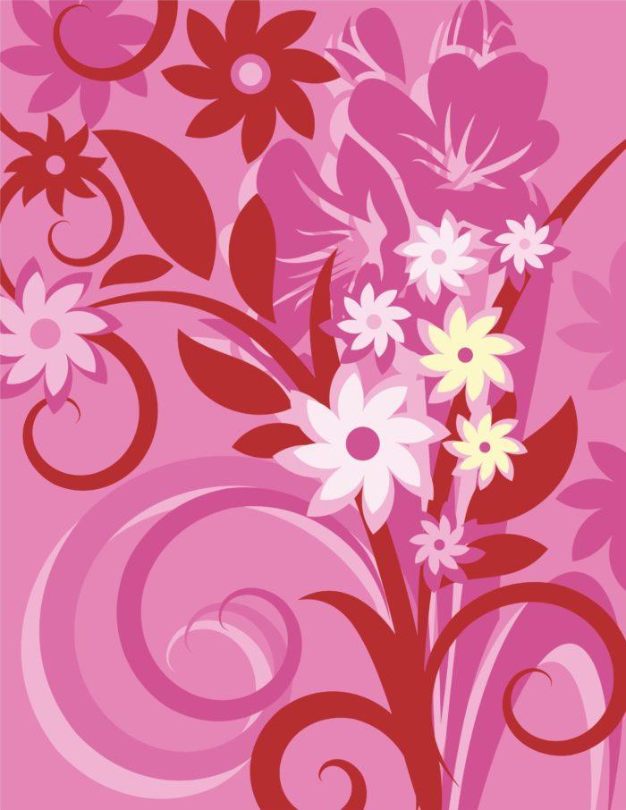 фон цветок