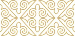 казахский орнамент декоративный Казахские узоры