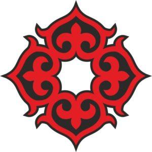 Казахские узоры казахский орнамент 4