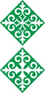 казахский орнамент ромб