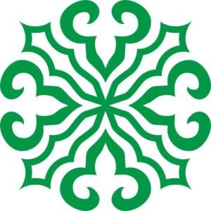 Казахские узоры казахский орнамент круглый 2