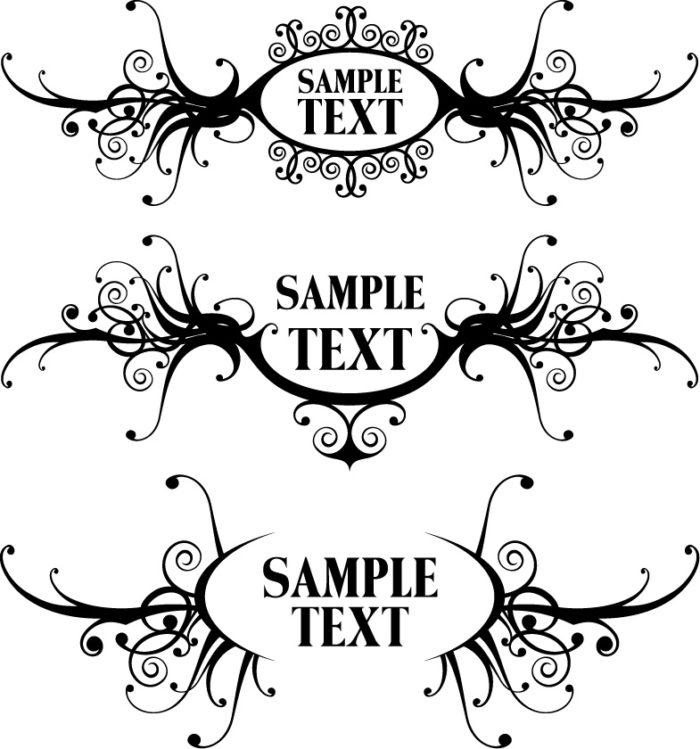 рамка для текста